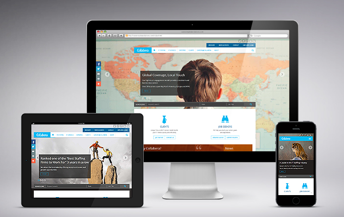 Collabera - Website Design