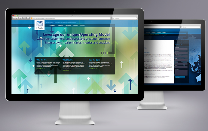 PGS - Website Design