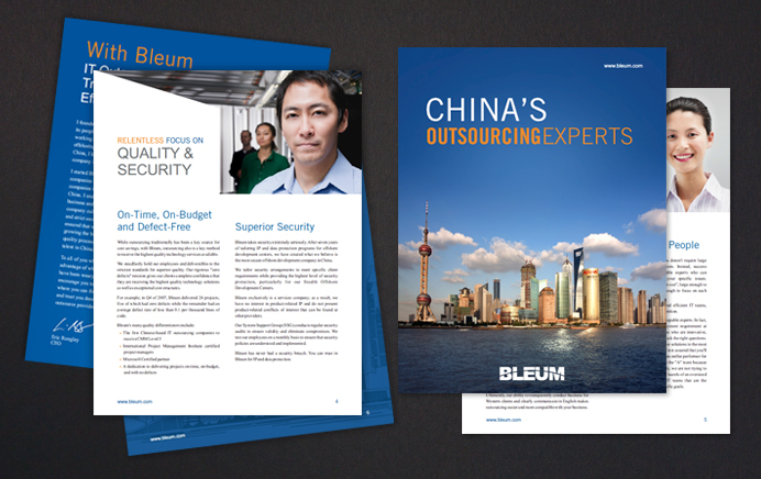 China's Outsourcing Experts - Bleum