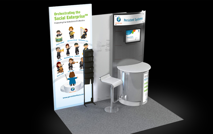 Persistent Systems - Booth Design