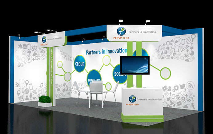 Perstent Systems - Booth Design