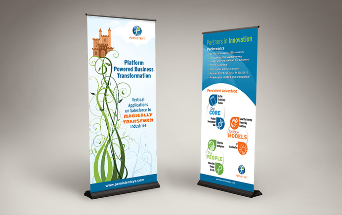 Persistent Systems - Standee